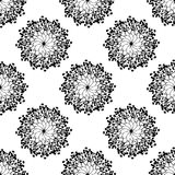 Black and white Absract pattern. Black Absract pattern on the white background vector illustration