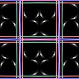 Black abstract art Royalty Free Stock Photography