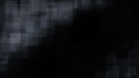 Black abstract background of blurry squares. Abstract background of blurry squares in black colors Stock Image