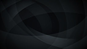 Black abstract background. Abstract background of curved lines in black colors Royalty Free Stock Image