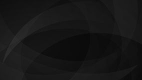 Black abstract background. Abstract background of curved lines in black colors Stock Image