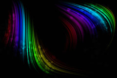 Black abstract background Stock Images