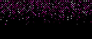 Black abstract background. Royalty Free Stock Image