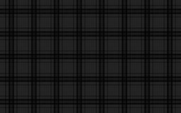Black abstract background, seamless tartan pattern Royalty Free Stock Photo