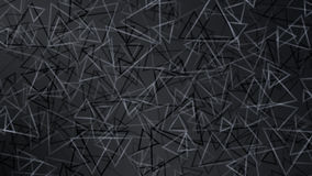 Black abstract background of small triangles Royalty Free Stock Image