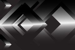 Black abstract geometric background Stock Photos