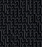 Black Abstract Geometric Pattern Background Royalty Free Stock Photography