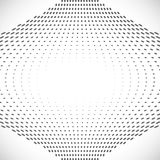 Black Abstract Halftone Design Element, vector Stock Images