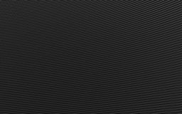 Black abstract image of lines background. 3d render Stock Image