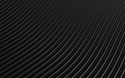 Black abstract image of lines background. 3d render. Ing Stock Image