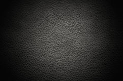 Black abstract leather texture background Royalty Free Stock Photography