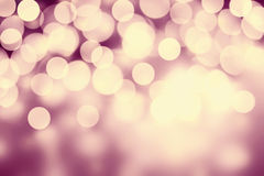 Black Abstract  night cosmic background with Defocused Bokeh twi Stock Photos