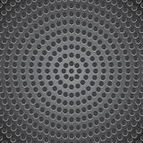 Abstract technology background. Black abstract technology background. Metal perforated background stock illustration