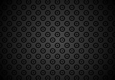 Black abstract vector background Stock Photo