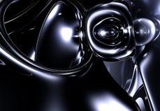 black abstrakcyjna przestrzeni Fotografia Royalty Free
