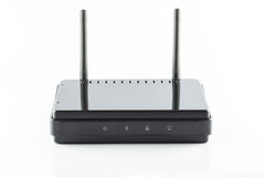 Black Access point router Royalty Free Stock Images