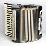 Black accordion Royalty Free Stock Image