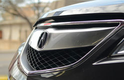 Black Acura RDX front Royalty Free Stock Images
