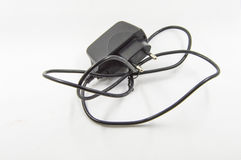 Black adapter Stock Image