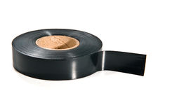 Black adhesive tape Royalty Free Stock Photography