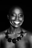 Black African American British fashion model portrait Royalty Free Stock Photo