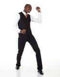 Black African Businessman Royalty Free Stock Photos