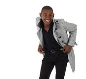 Black African Businessman Stock Photo