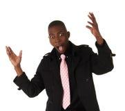 Black African businessman Stock Photos