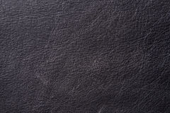 Black Aged Leather Royalty Free Stock Photography
