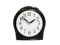 Black alarm clock. Stock Photography
