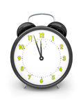 Black alarm clock Royalty Free Stock Photo