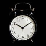 Black alarm clock Stock Photography