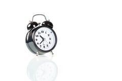 Black alarm clock Stock Photos