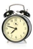 Black alarm clock Royalty Free Stock Image