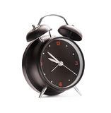Black alarm clock Royalty Free Stock Photos