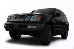 Black all terrain automobile Stock Photography