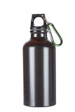 Black aluminium canteen Stock Images