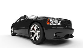 Black American Car Royalty Free Stock Images