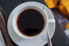 Black Americano Stock Image