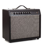 A black amp on a white background Royalty Free Stock Image