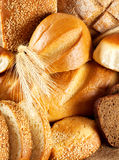 Black And White Bread Royalty Free Stock Photos