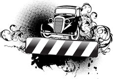 Black And White Grange Old Auto
