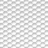 Black And White Honeycomb. Abstract Background. 3D Illustration Royalty Free Stock Photo