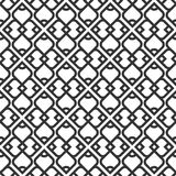 Black And White Islamic Seamless Pattern Royalty Free Stock Images