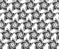 Black And White Pattern With Line Set 2. Stock Photos