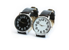Black And White Watches Royalty Free Stock Image