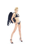 Black angel Stock Image