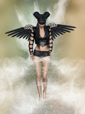Black angel stock illustration