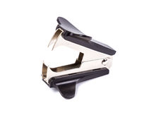 A black anti stapler isolated on white. Background Royalty Free Stock Photo