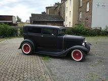 Black Antique car Stock Image
